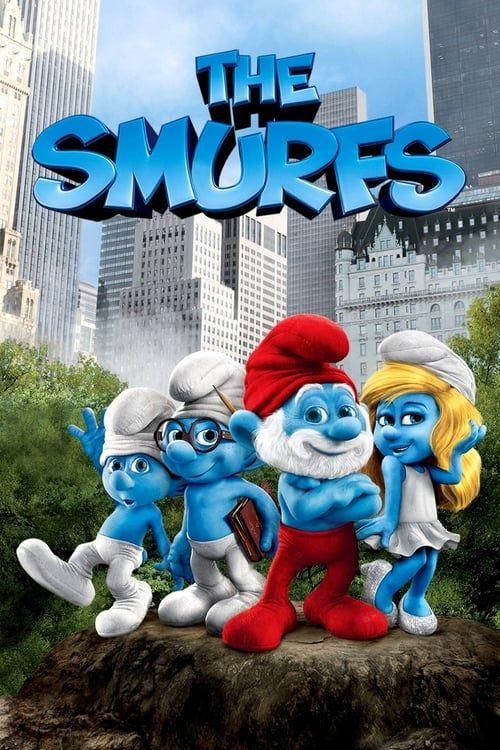 Key visual ofThe Smurfs