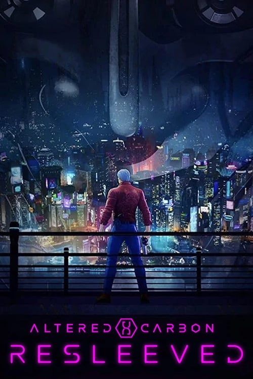 Key visual ofAltered Carbon: Resleeved