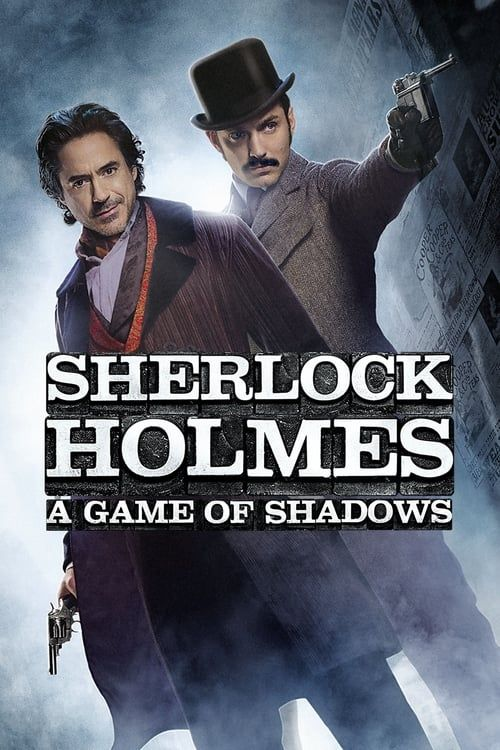 Key visual ofSherlock Holmes: A Game of Shadows
