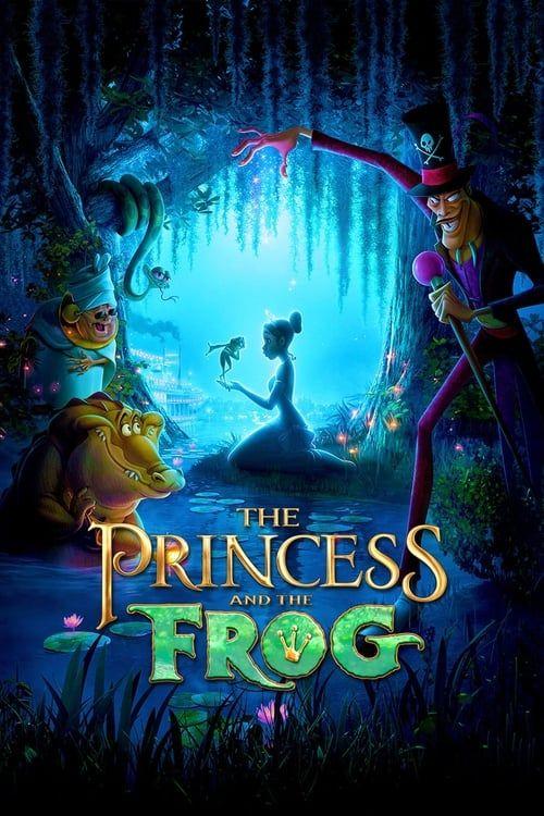 Key visual ofThe Princess and the Frog