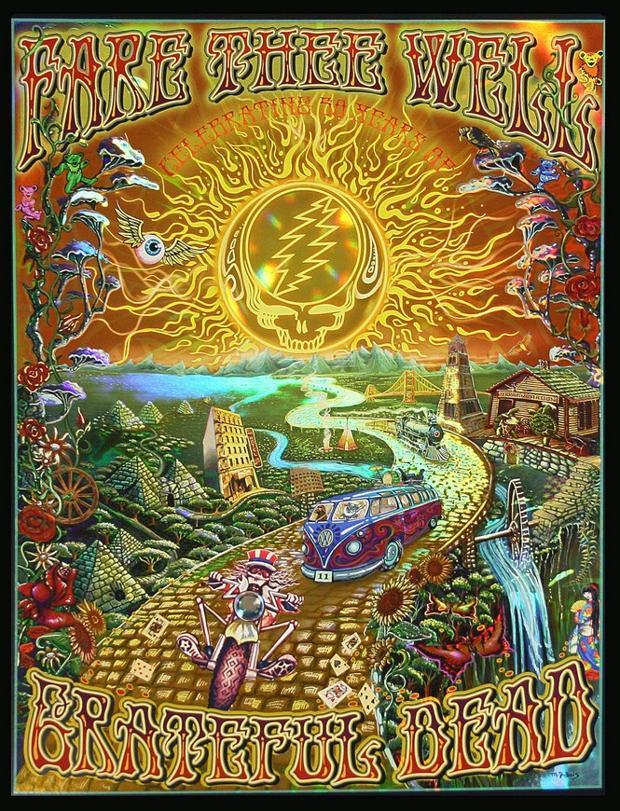 Hazen Paper Co Of Holyoke Honored For Grateful Dead Poster