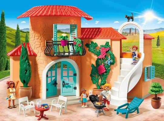 Playmobil Villa De Vacances Migros