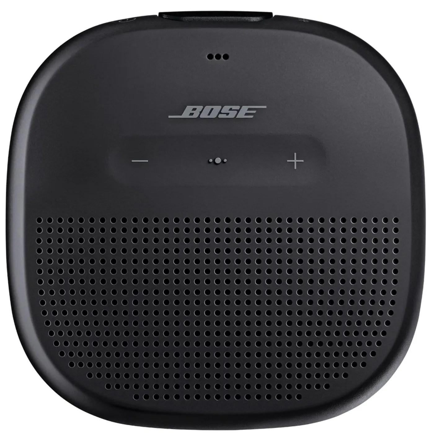 bose soundlink micro noir haut parleur bluetooth