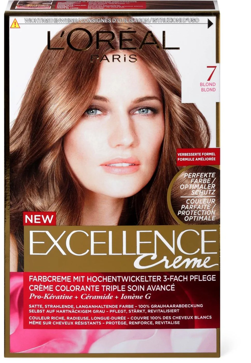 LOral Excellence Creme 7 Blond Migros