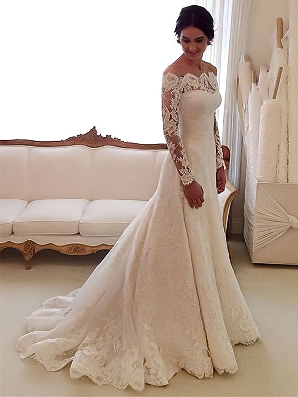 Beautiful Lace Wedding Dresses Lace Bridal Gowns Millybridal