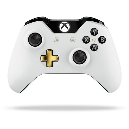 Xbox One Wireless Controller Lunar White Special Edition