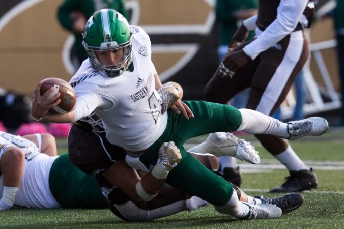 Image result for Eastern Michigan Eagles vs. Western Michigan Broncos