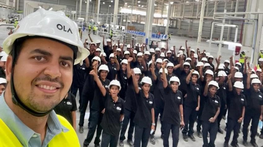 ओला इलेक्ट्रिक स्कूटर कारखाना दुनिया में महिलाओं द्वारा पूर्णत: संचालित  सबसे बड़ा प्लांट: अग्रवाल , Ola electric scooter factory to be largest  all-women plant globally ...