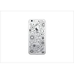 Luminoso ルミノソ LED スマホフラッシュケース For iPhone5/5s/SE flower