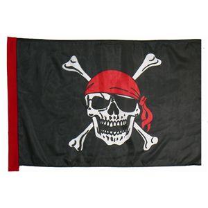 ハロウィンコスプレ 【Pirate Flag/海賊の旗】 フラッグ1枚入り 重量100g 〔イベント ライブ〕