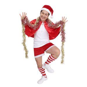 【クリスマスコスプレ 衣装】 スーパーサンタマン