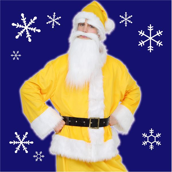 【クリスマスコスプレ 衣装】 GOGOサンタサン(イエロー) ハロウィン コスプレ 衣装店