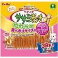 ペティオ ササミ巻き やわらか 食べきりサイズのmidiガム 39本入 【犬用・フード】 【ペット用品】