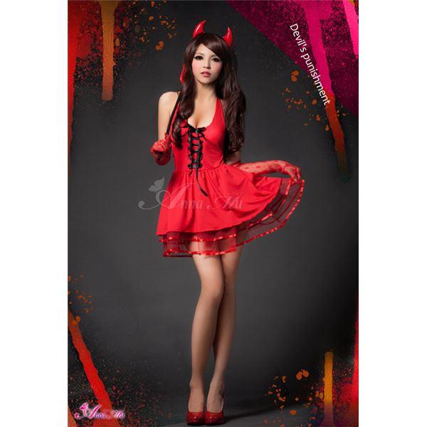 ハロウィン小悪魔デビルコスチューム z1169 ハロウィン コスプレ 衣装店