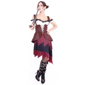 CLUB QUEEN Girly Pirates(ガーリーパイレーツ) 【 衣装 コスプレ ハロウィン 仮装 大人 コスチューム 女海賊 女性用 レディース 】