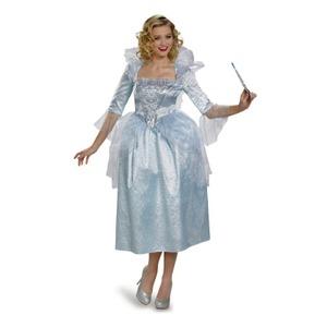 ディズニー DISNEY 妖精の教母 Fairy Godmother ドレス 大人M