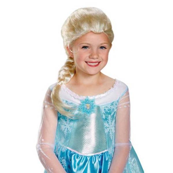 ディズニー DISNEY アナと雪の女王 グッズ エルサ子供用 ウィッグ ハロウィン コスプレ 衣装店