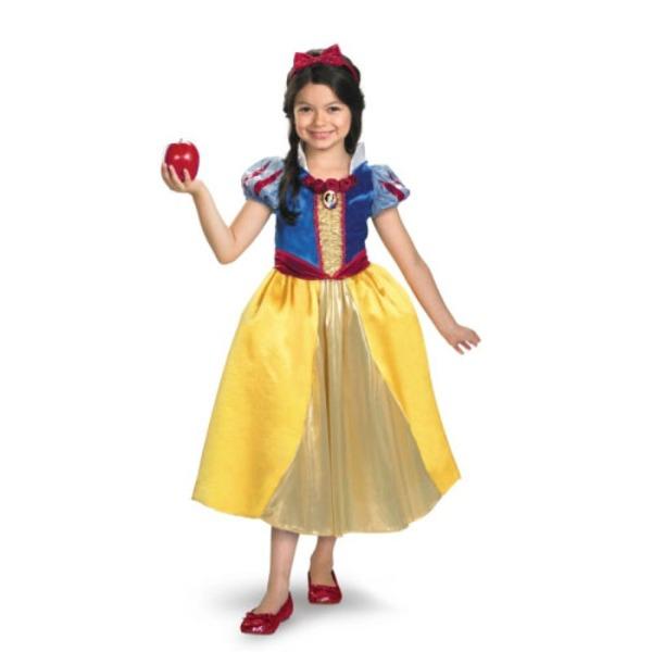 ディズニー DISNEY スノーホワイト 白雪姫 シマーコスチューム チャイルドS ハロウィン コスプレ 衣装店