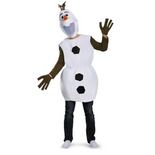 ディズニー DISNEY アナと雪の女王 オラフ コスチューム 大人用XL 92994D  ハロウィンコスプレ衣装店
