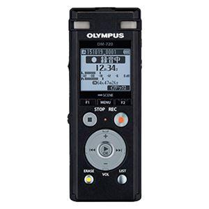 オリンパス ICレコーダー Voice-Trek (ブラック) DM-720 BLK