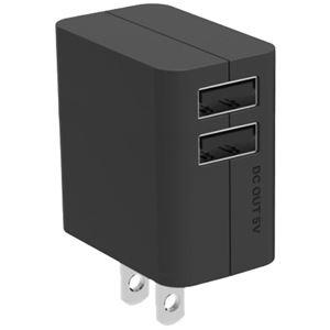 パナソニック(家電) USB出力ACアダプター (ブラック) QE-AP109-K