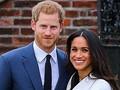 (左から)ヘンリー王子、メーガン妃