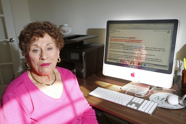 """Sherry Spiezile received an email from a friend with a warning about a supposed scam at Walmart, where cashiers were selecting unauthorized """"cash back"""" options on purchases. The scam is a hoax."""