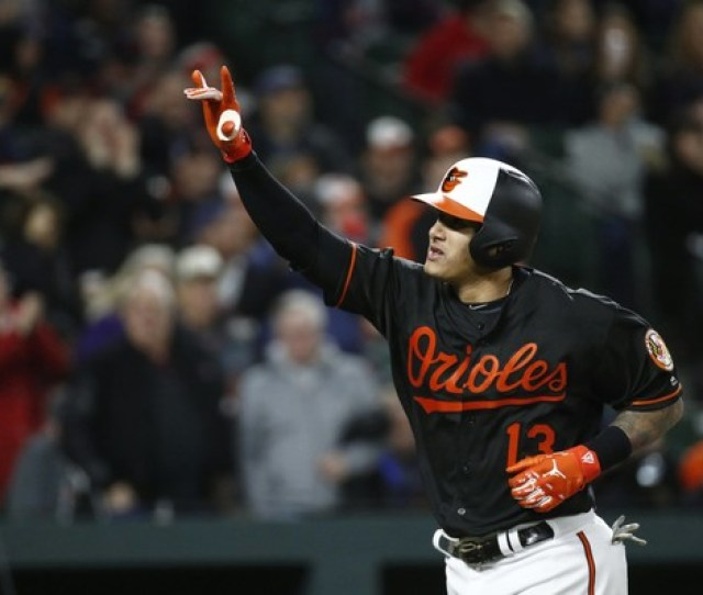 Could The Baltimore Orioles Trade Shortstop Manny Machado To The Phillies Ap Photo