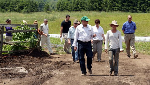 farm, organic, new jersey, secretary of agriculture, doug fisher, vegetable