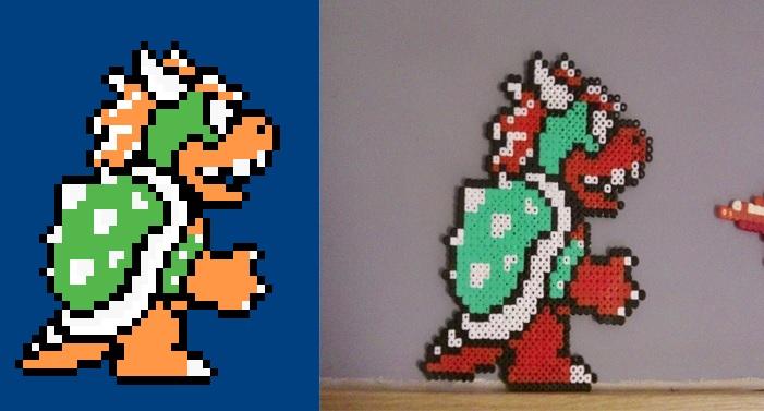 Pixel Art En Perle Hama Sur Le Forum Gnral Jeux Vido