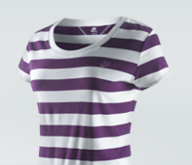 Nike Essential Stripe Short-Sleeve Top