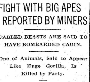 How a 1924 Bigfoot battle on Mt. St. Helens helped launch a legend