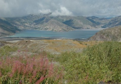 Mount St. Helens Loowit Trail backpack trip