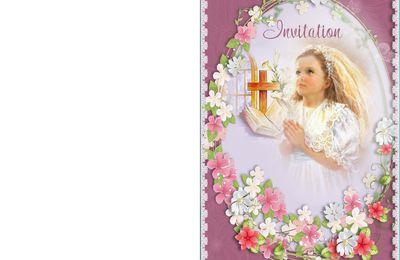 faire part communion