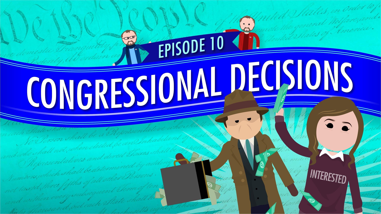 Congressional Decisions