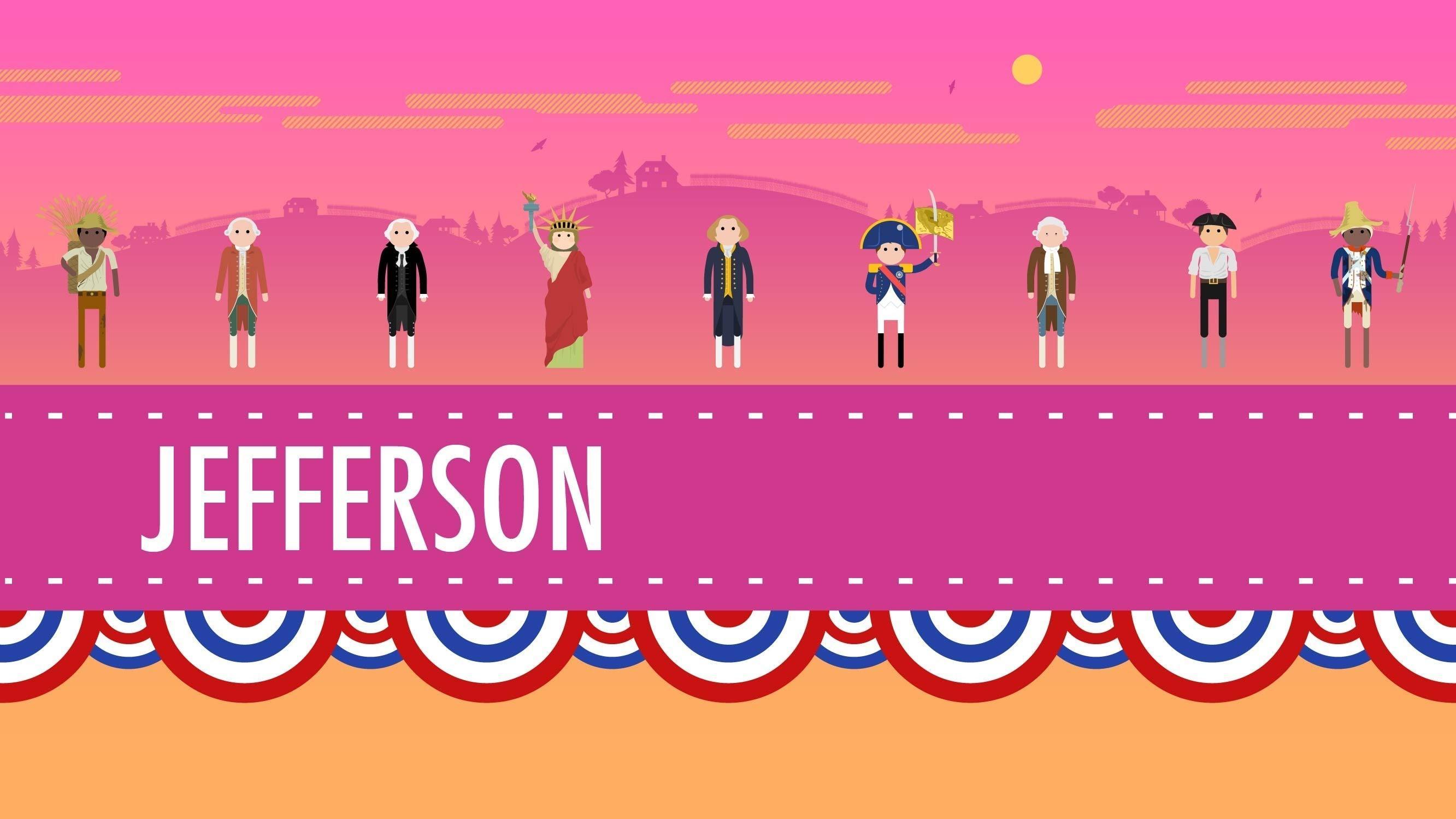 Thomas Jefferson And His Democracy