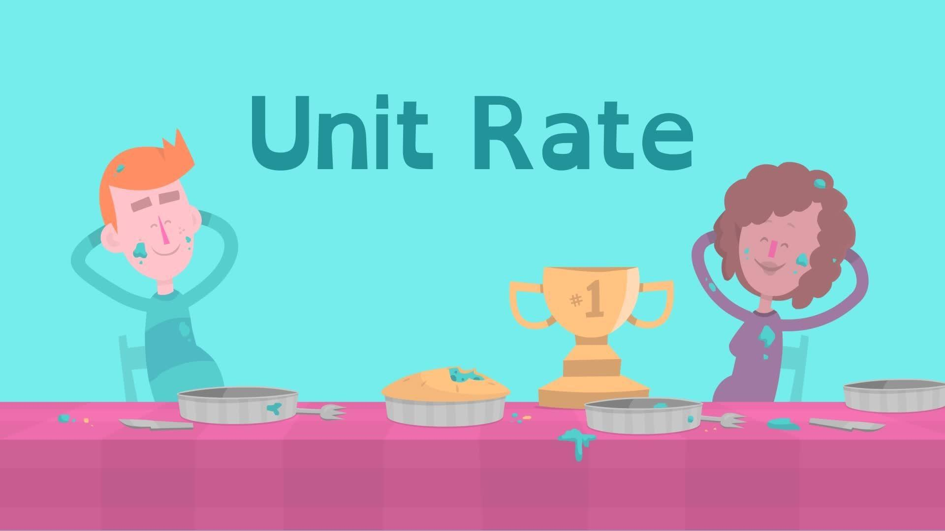 Solving Unit Rate Problems