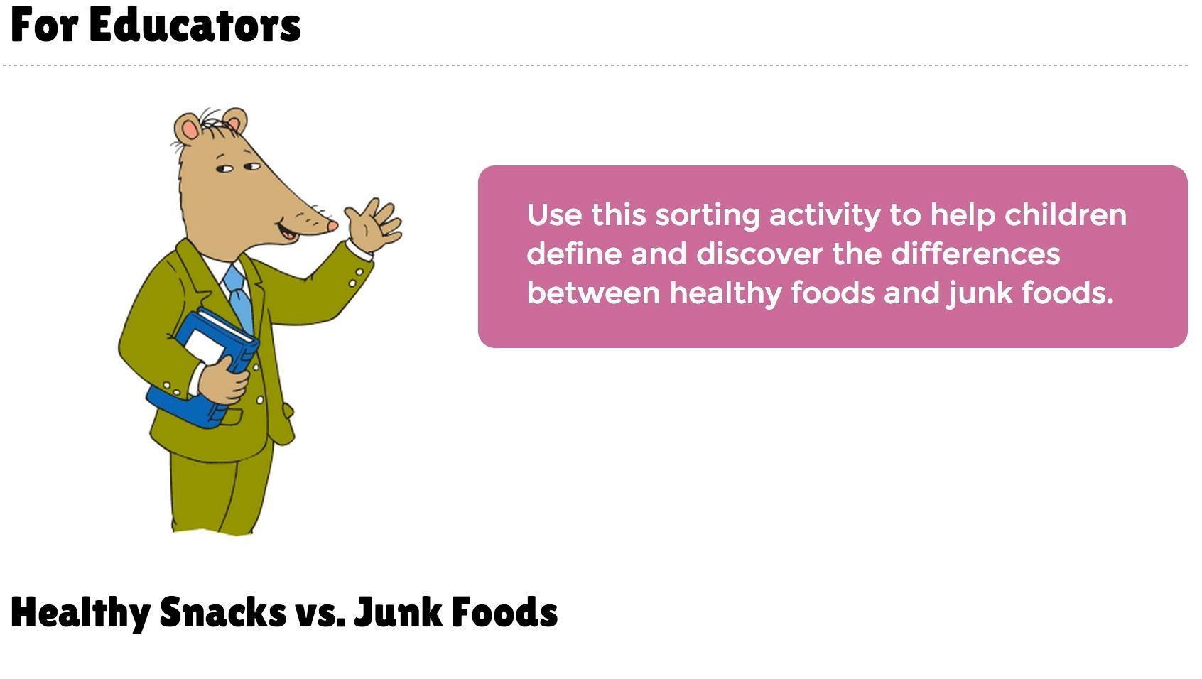Healthy Snacks Vs Junk Food