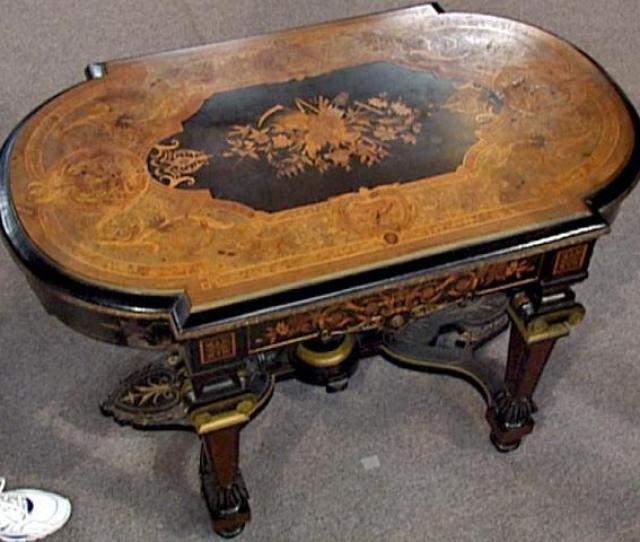 Appraisal Renaissance Revival Parlor Table