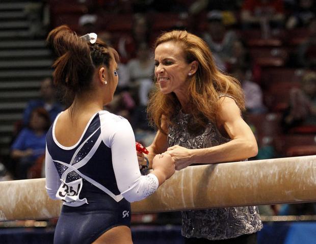 Penn State Womens Gymnastics Associate Head Coach Rachelle Thompson To Resign After Abuse