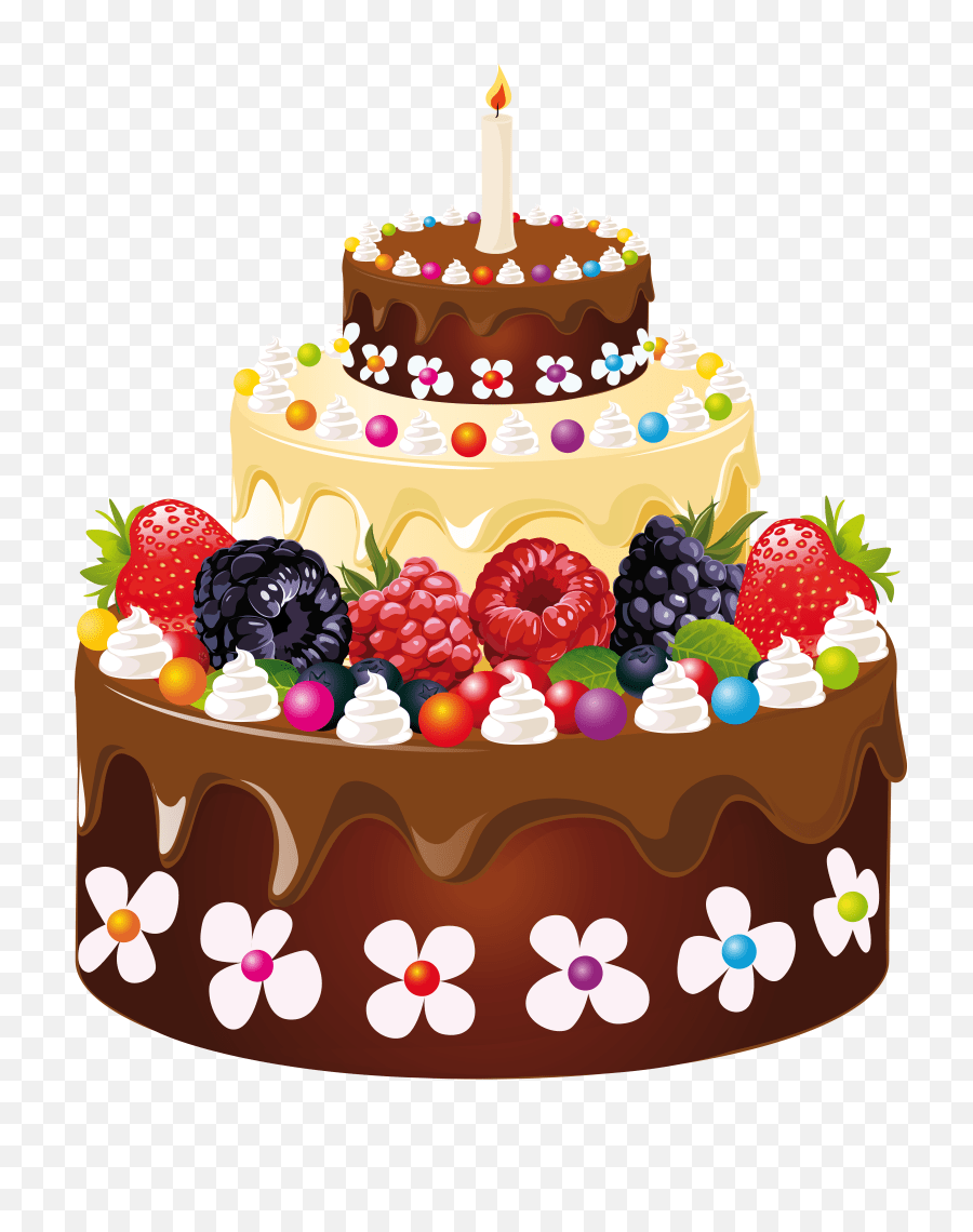 Cake With Candles Transparent U0026 Png Clipart Free Download Ywd Happy Birthday Cake Png Cake Clipart Png Free Transparent Png Images Pngaaa Com