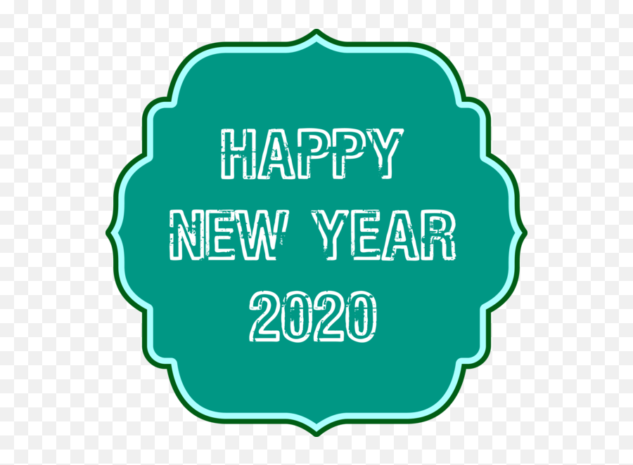 logo for happy 2020 quote hq png image
