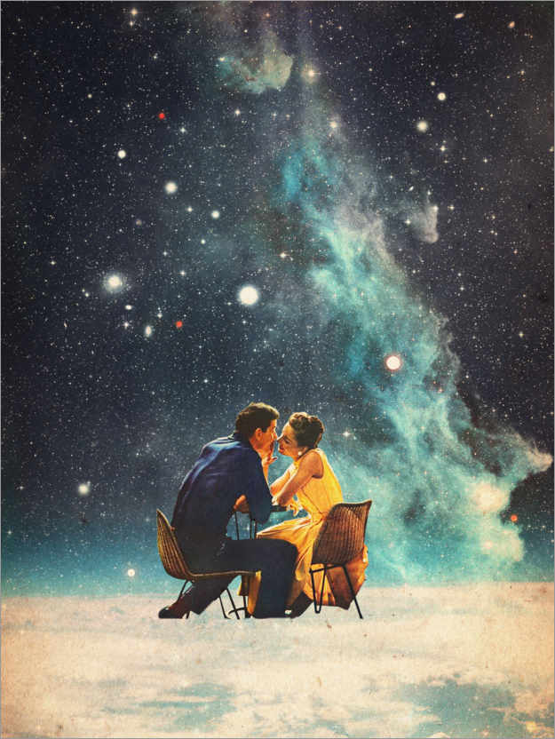 premium poster i ll take you to the stars for a second date