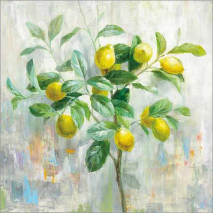 premium poster lemon tree danhui nai