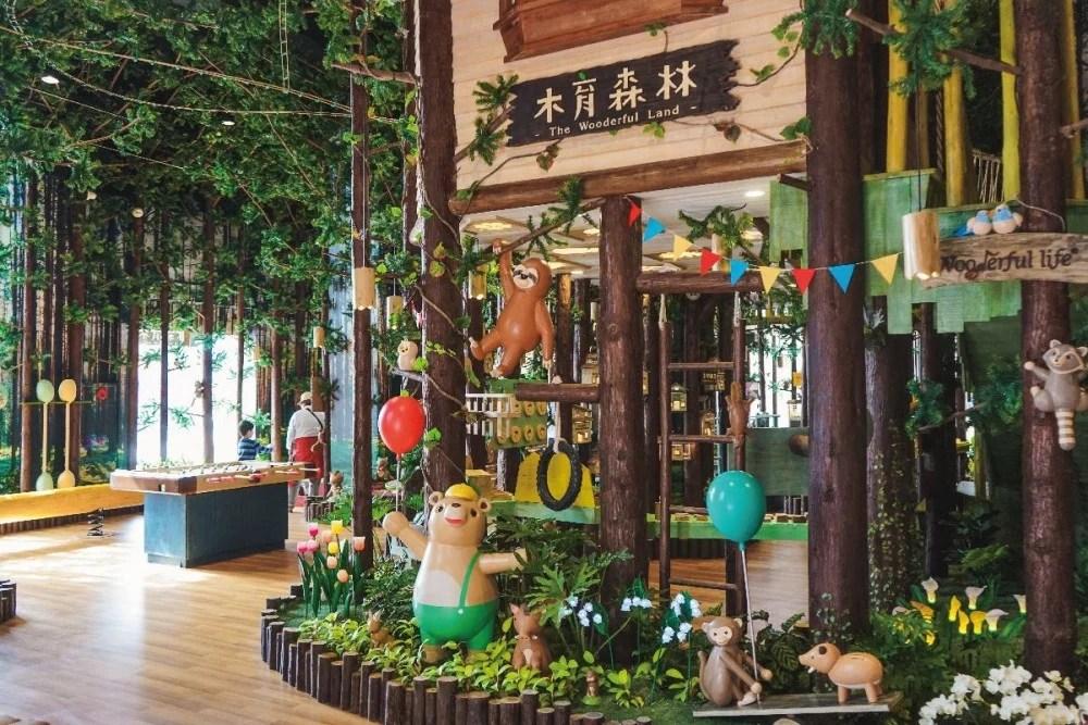親子遊之選!全臺灣最大「木育森林」場內設有室內空中飛人/DIY手作區   HolidaySmart 假期日常