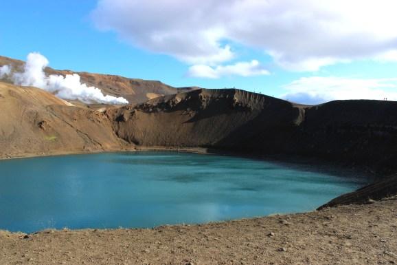Viti krater gölü