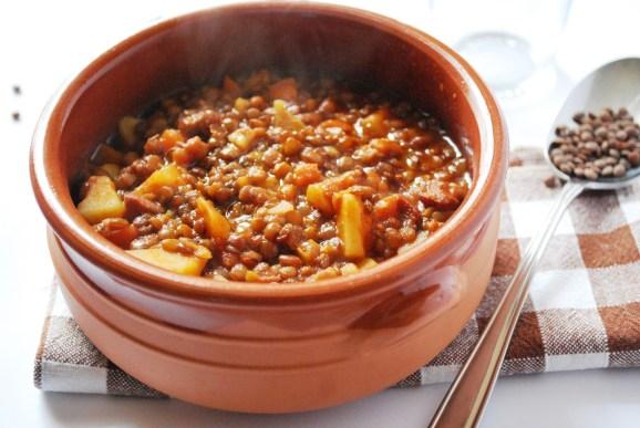 Zuppa di lenticche