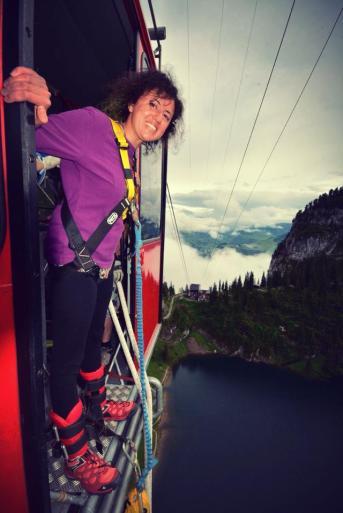 bungee jumping atlayış öncesi