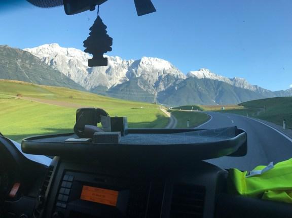 Avusturya otostop yolu