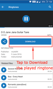 Mobile 9 Ringtone Download App